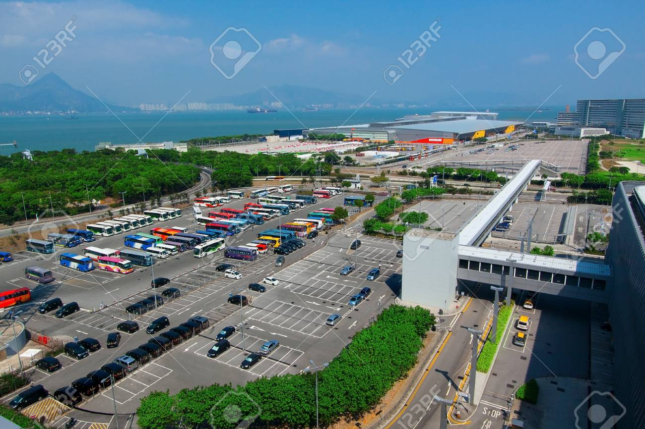 Car parking place in city Stock Photo - 17549632