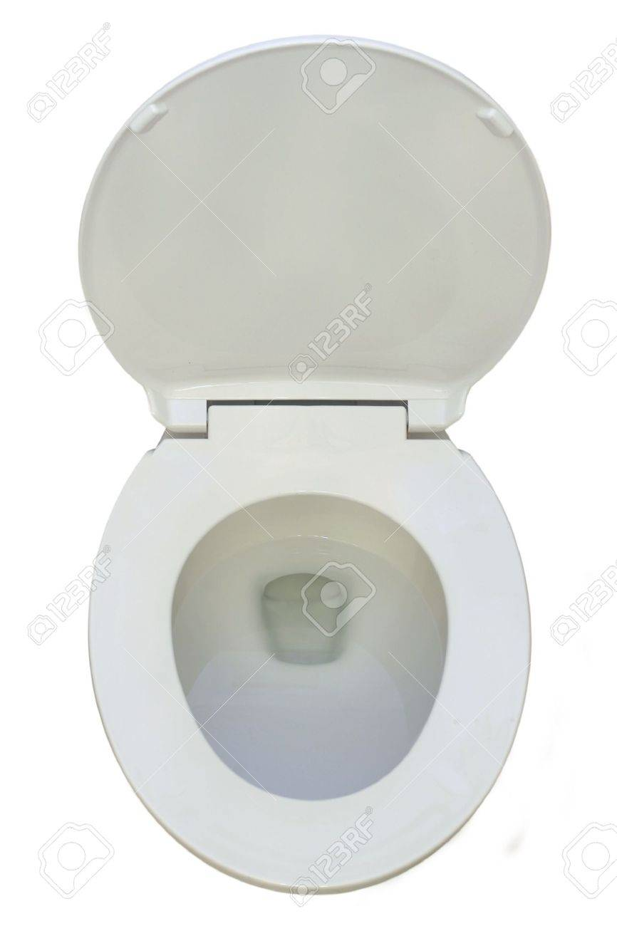 New Toilet isolated on pure white bacground Stock Photo - 1788413