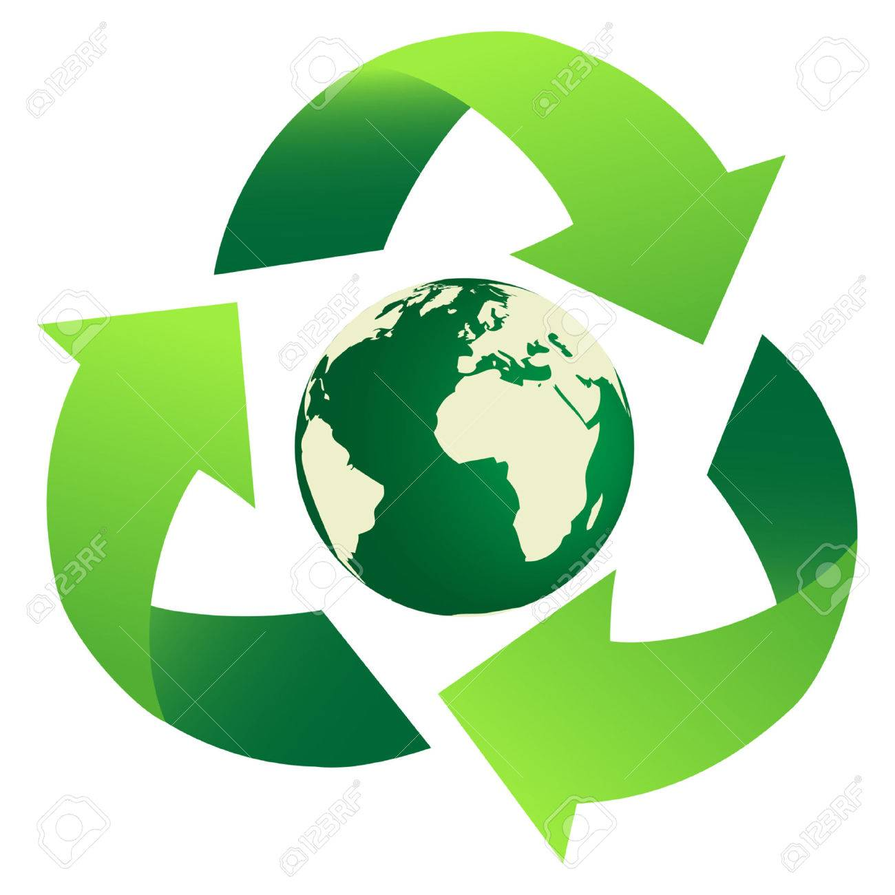 Recycling Earth Stock Vector - 4588916