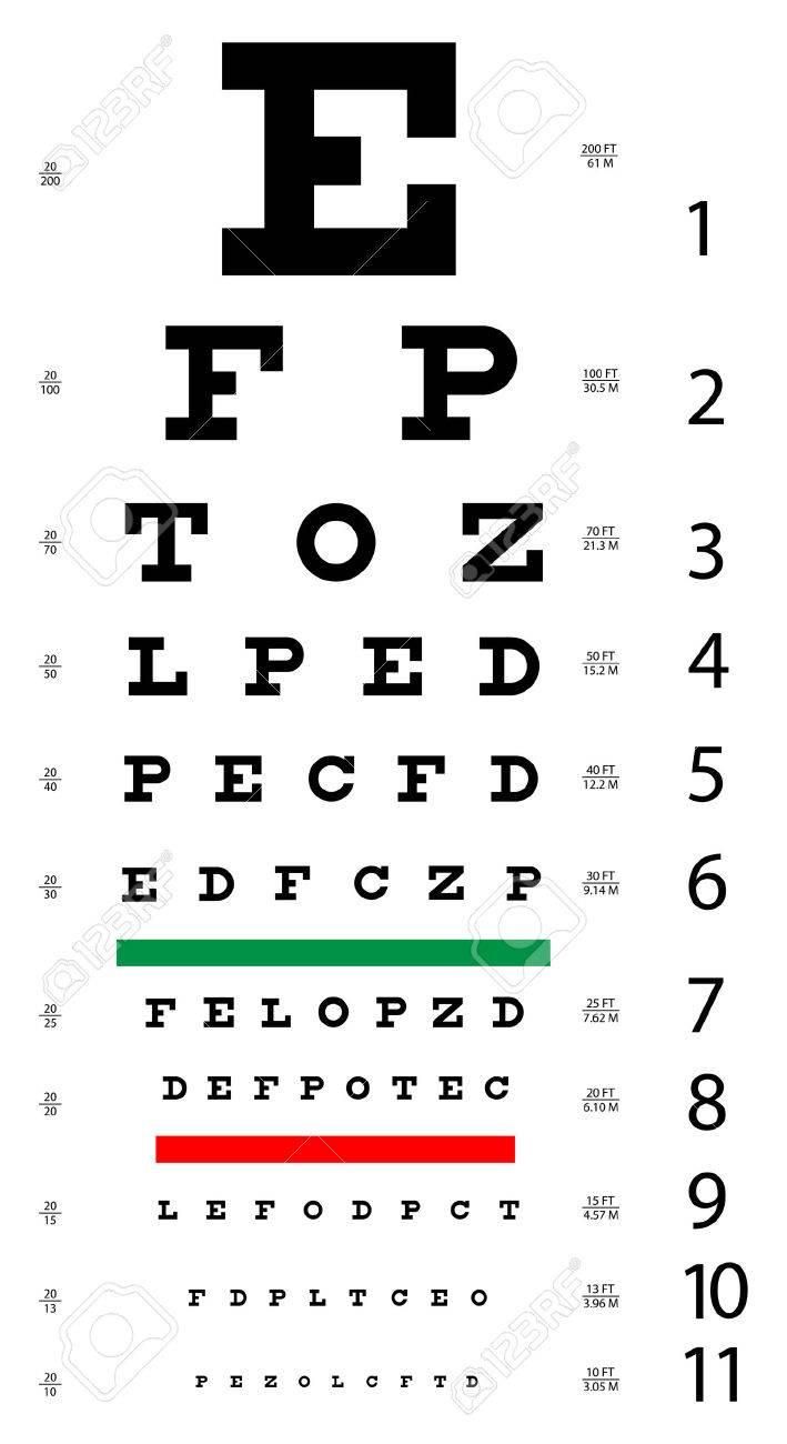Vector illustration of snellen eye chart royalty free cliparts vector illustration of snellen eye chart stock vector 4700611 geenschuldenfo Choice Image