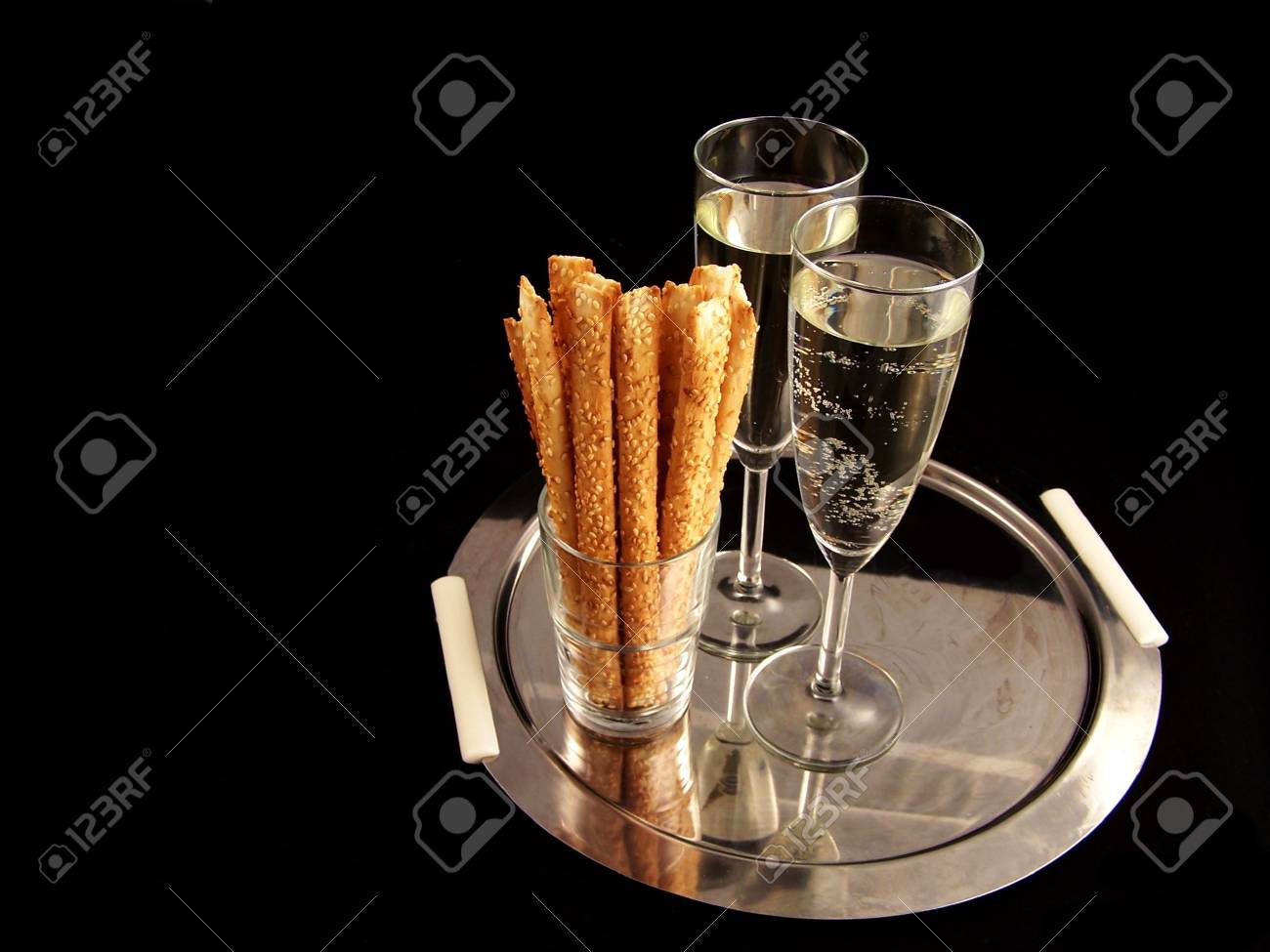champagne ready for new Year Party Stock Photo - 464749