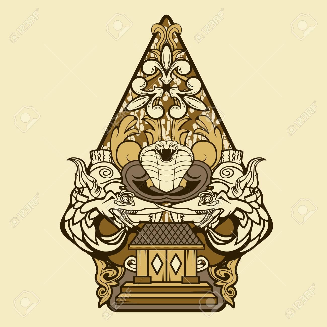 gunungan puppet wayang decoration invitation royalty free cliparts vectors and stock illustration image 136417736 gunungan puppet wayang decoration invitation