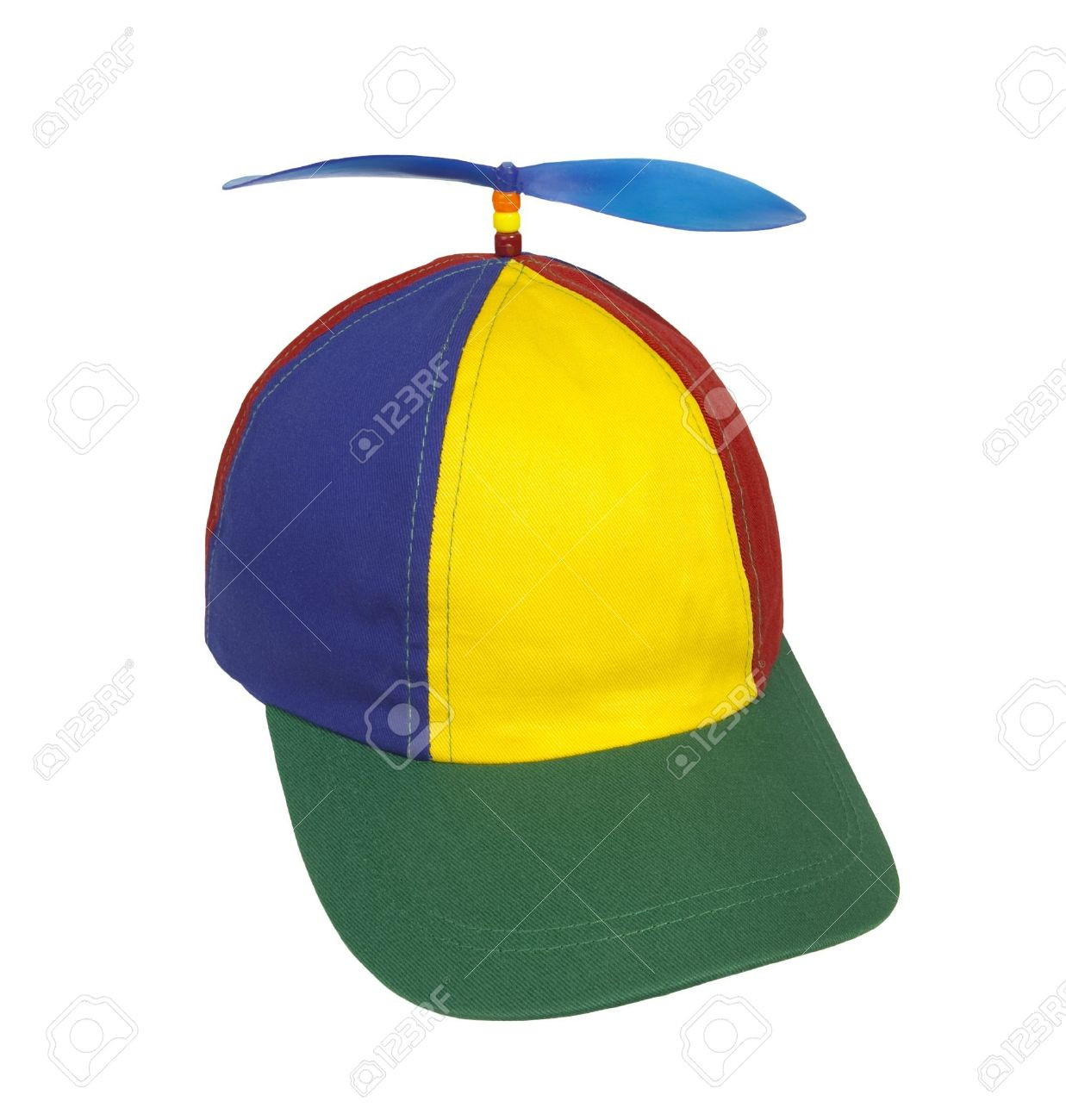 ca8a757dc5b43 Beanie cap with propeller Stock Photo - 6666898
