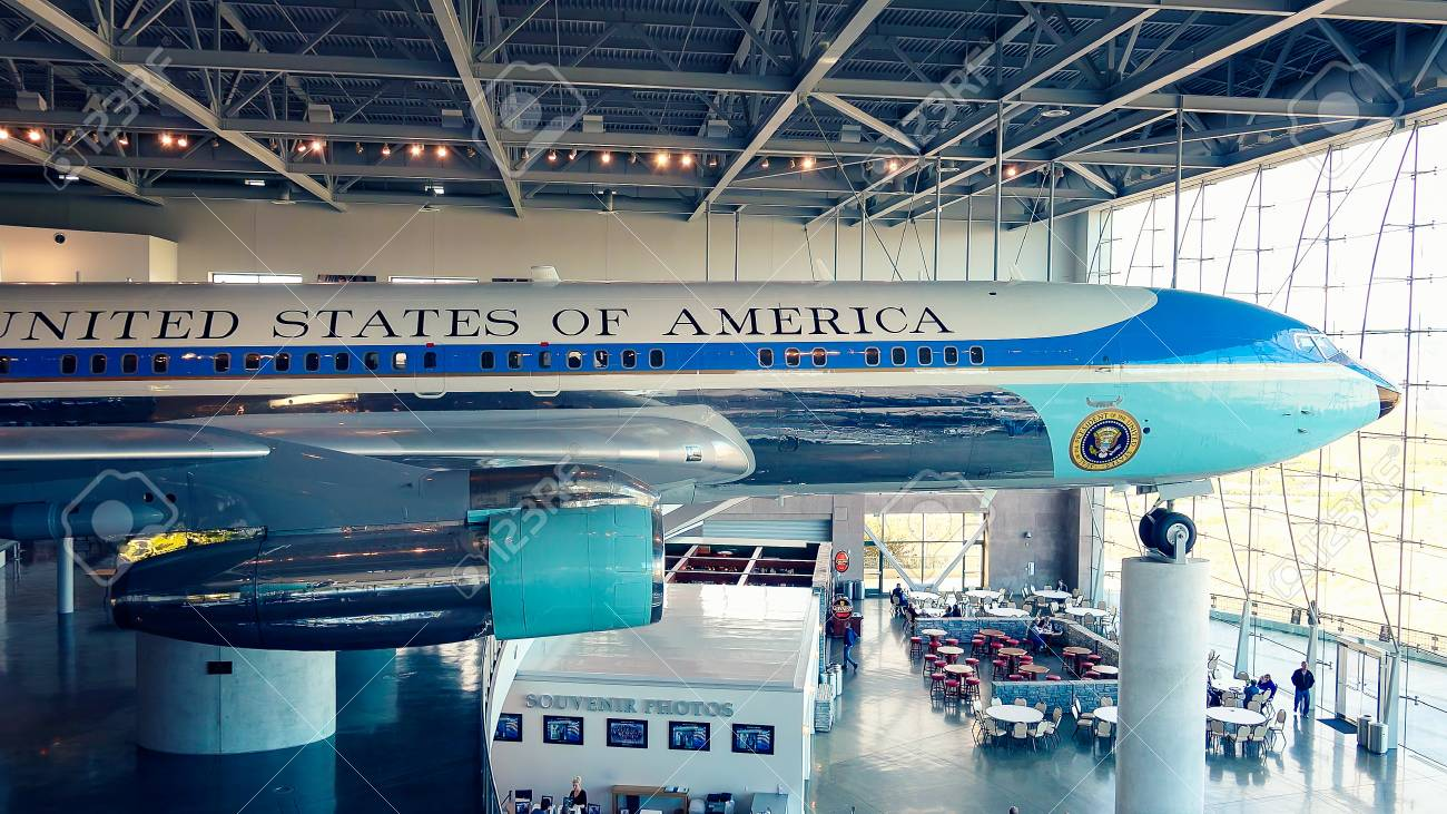 Air Force One on Display at the Ronald Reagan Presidential Library and Museum - 55123729
