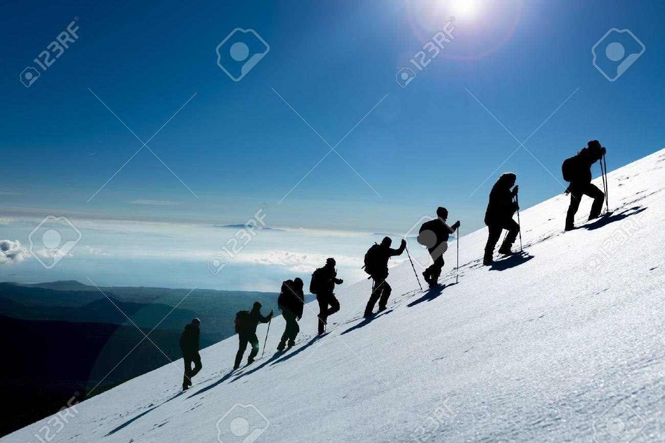 Tough climbing and hiking - 78683976