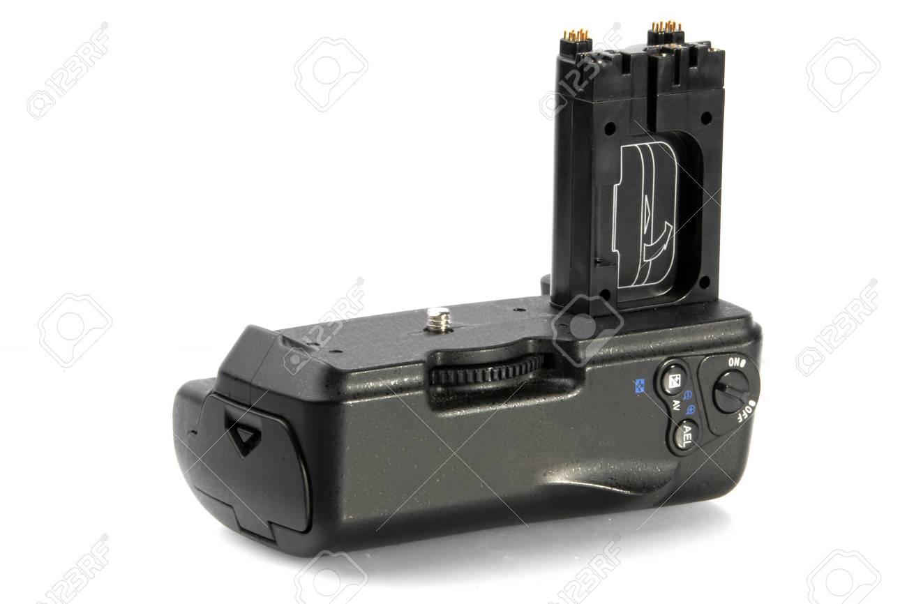 DSLR Battery Grip Stock Photo - 21169856