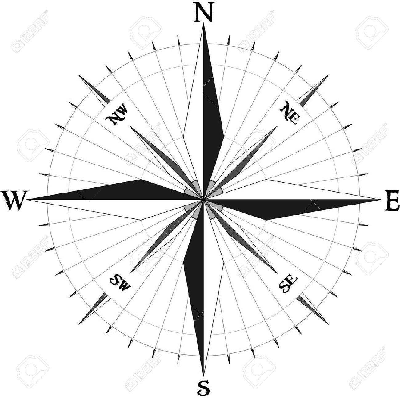 Compass symbol Stock Vector - 11667052