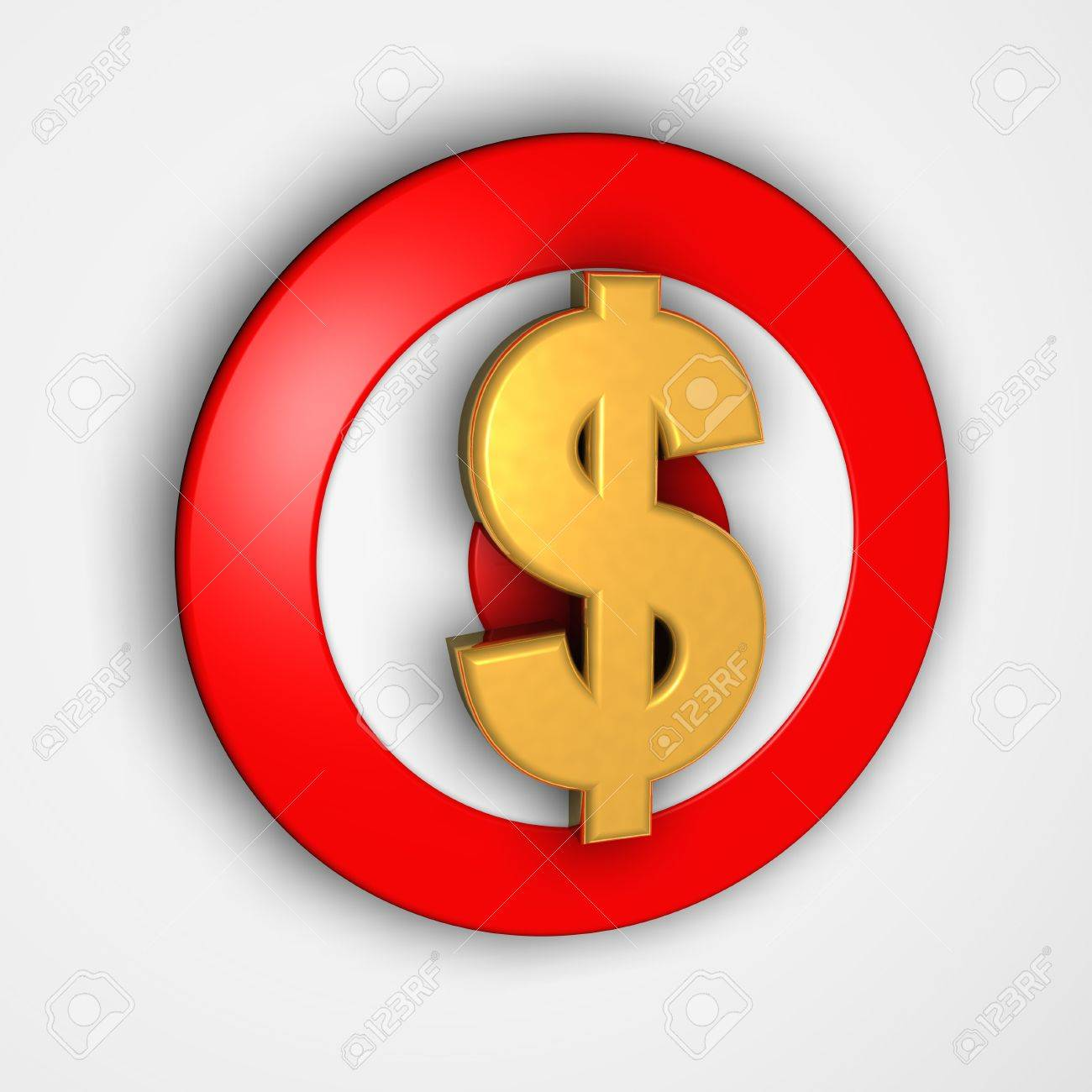 Dollar symbol on 3d target stock photo picture and royalty free dollar symbol on 3d target stock photo 520005 buycottarizona Image collections