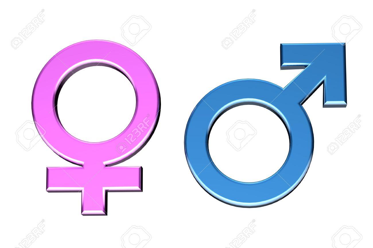 Blue and pink malefemale symbols stock photo picture and royalty blue and pink malefemale symbols stock photo 521086 buycottarizona