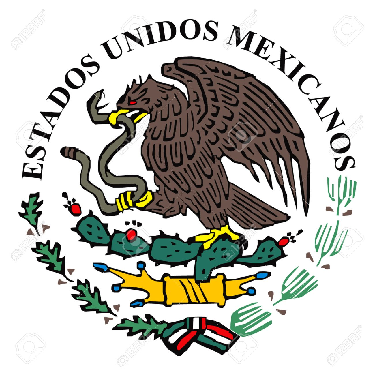 mexican flag logo royalty free cliparts vectors and stock rh 123rf com