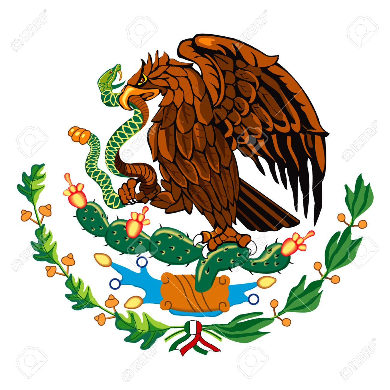 Image result for picture of the mexican flag