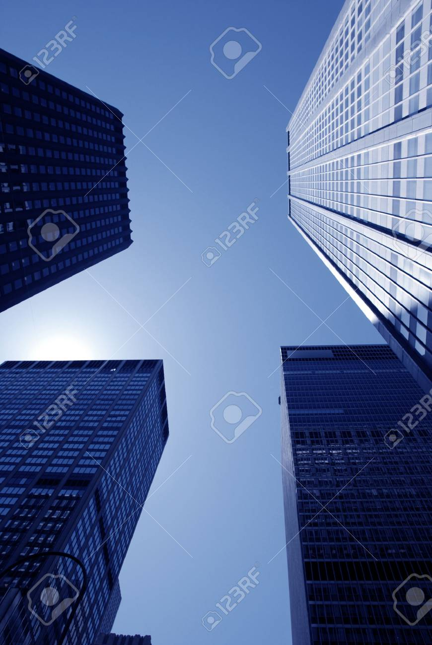 skyscrapers Stock Photo - 1622742