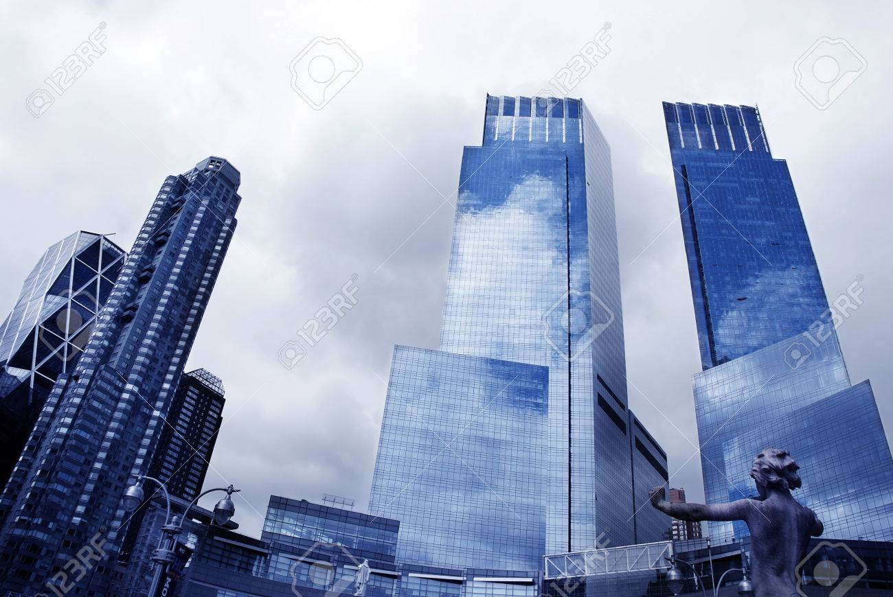 skyscrapers Stock Photo - 1622743