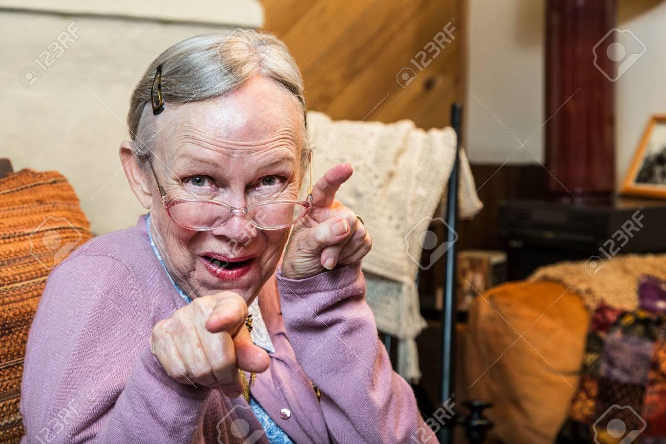 photo drole vieille dame