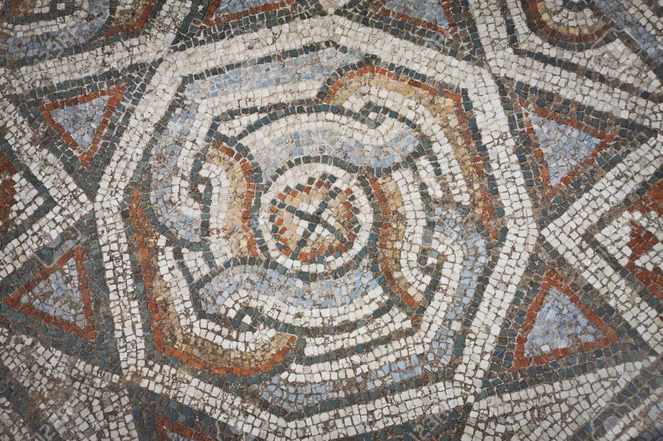 mosaik muster von boden in der nhe gymnasium in sardes in der trkei standard - Mosaik Muster
