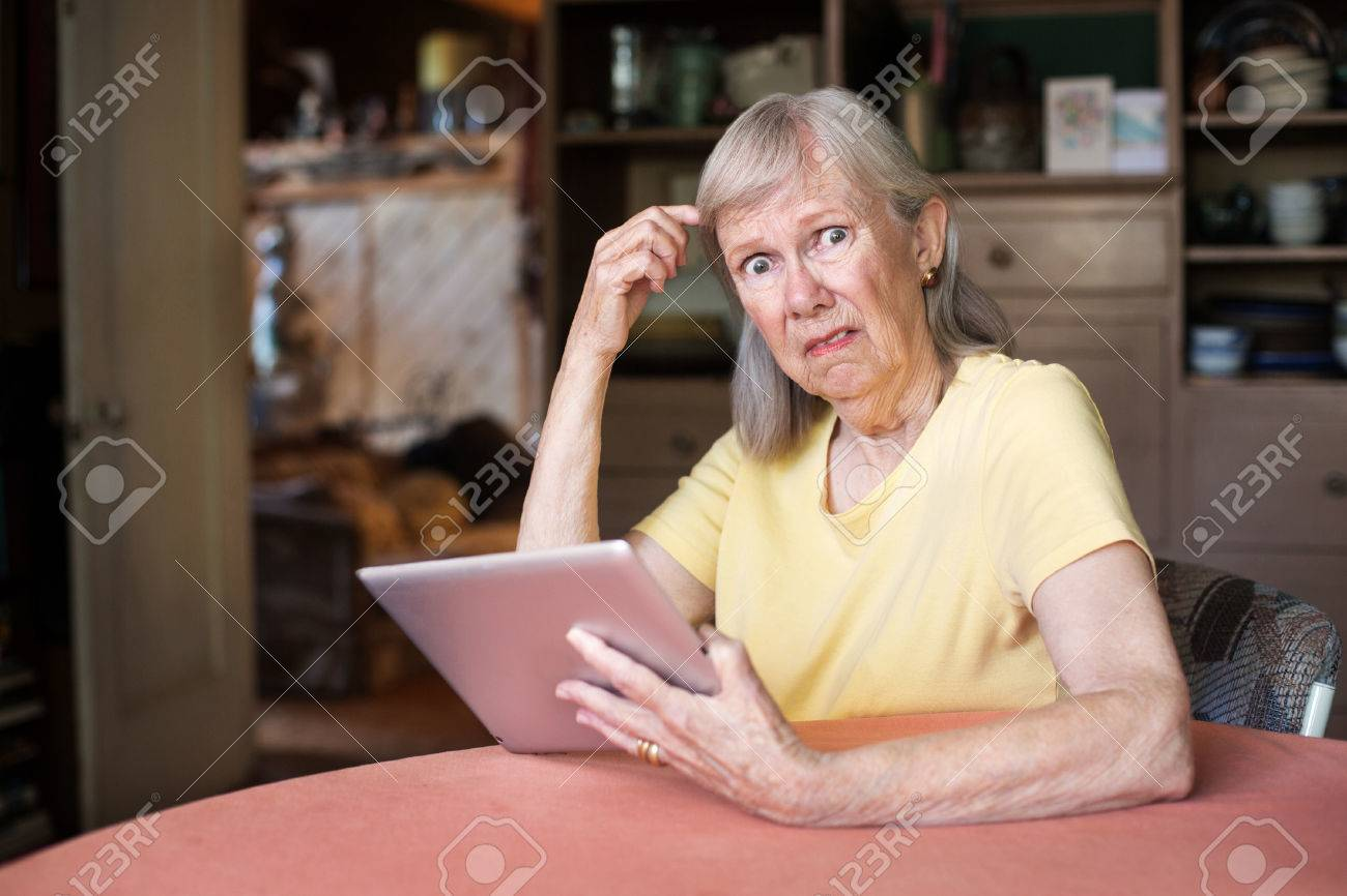 Adult On Computer
