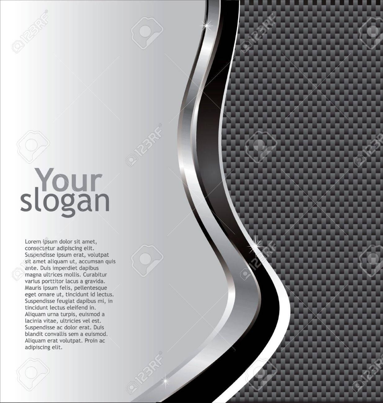 Fiber Background Stock Vector - 9746842