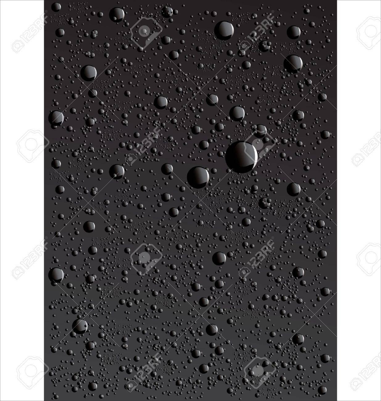 Water drop background Stock Vector - 10255493
