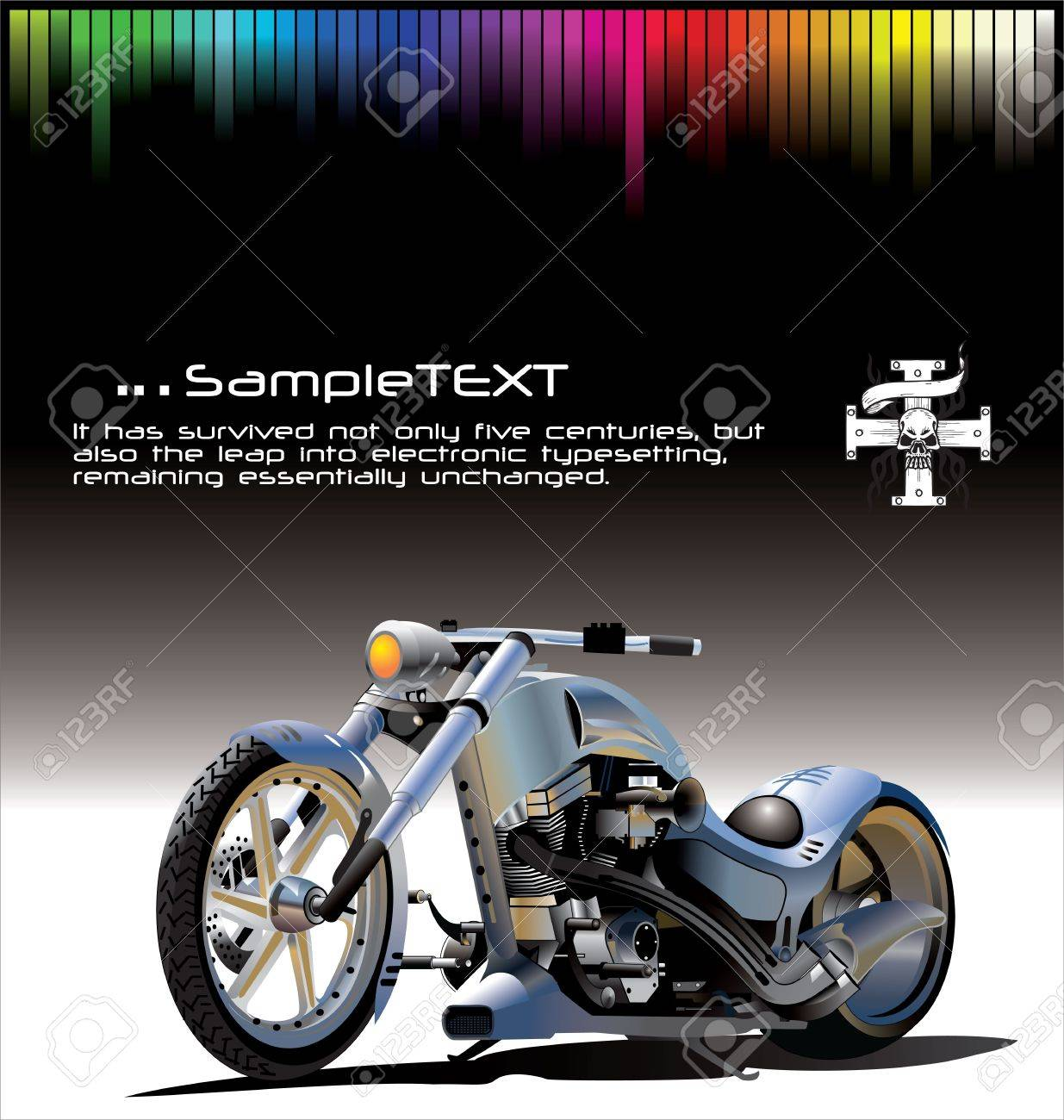 motorcycle background has  Motorcycle Background Royalty Free Cliparts, Vectors, And Stock ...