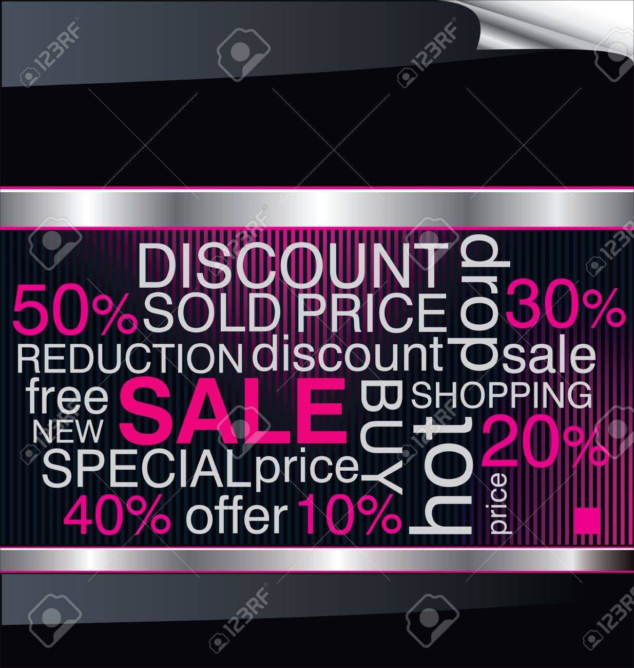 SALE. Word collage on modern background Stock Vector - 12072725