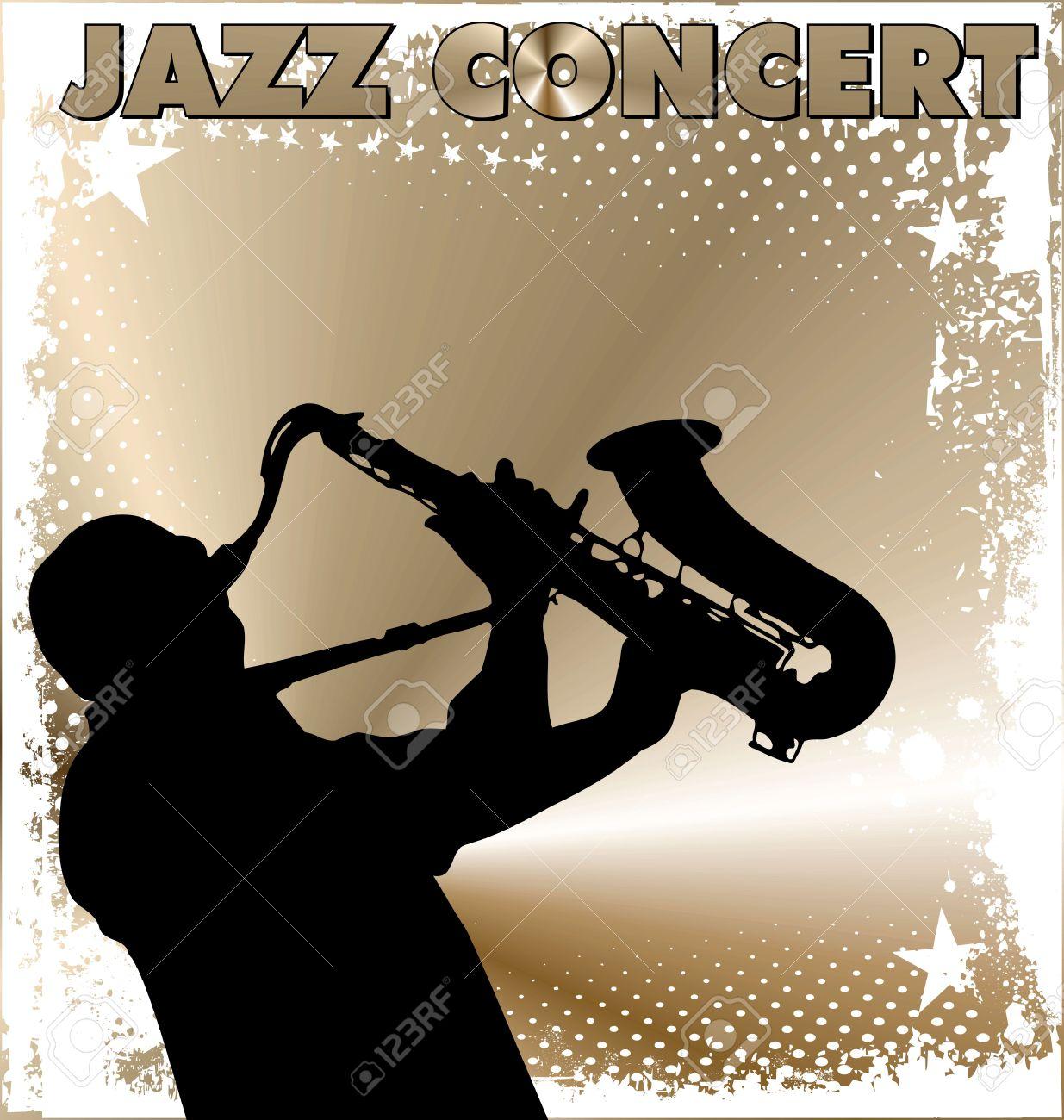 ジャズ コンサートの壁紙のイラスト素材 ベクタ Image