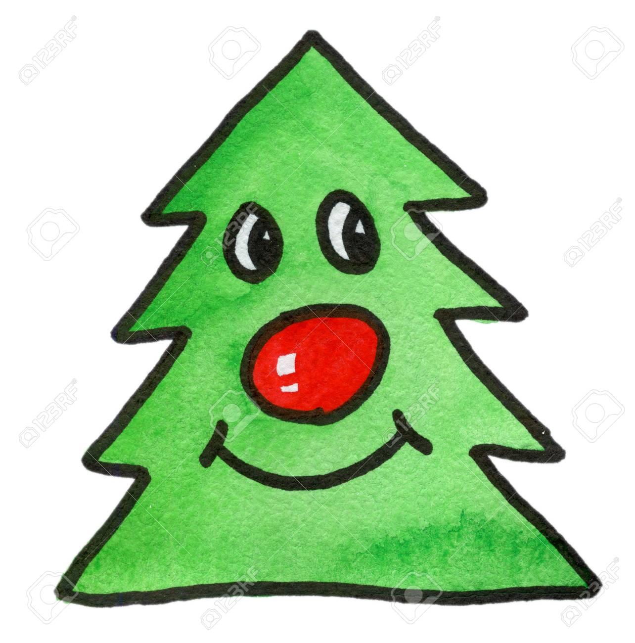weihnachtsbaum malen