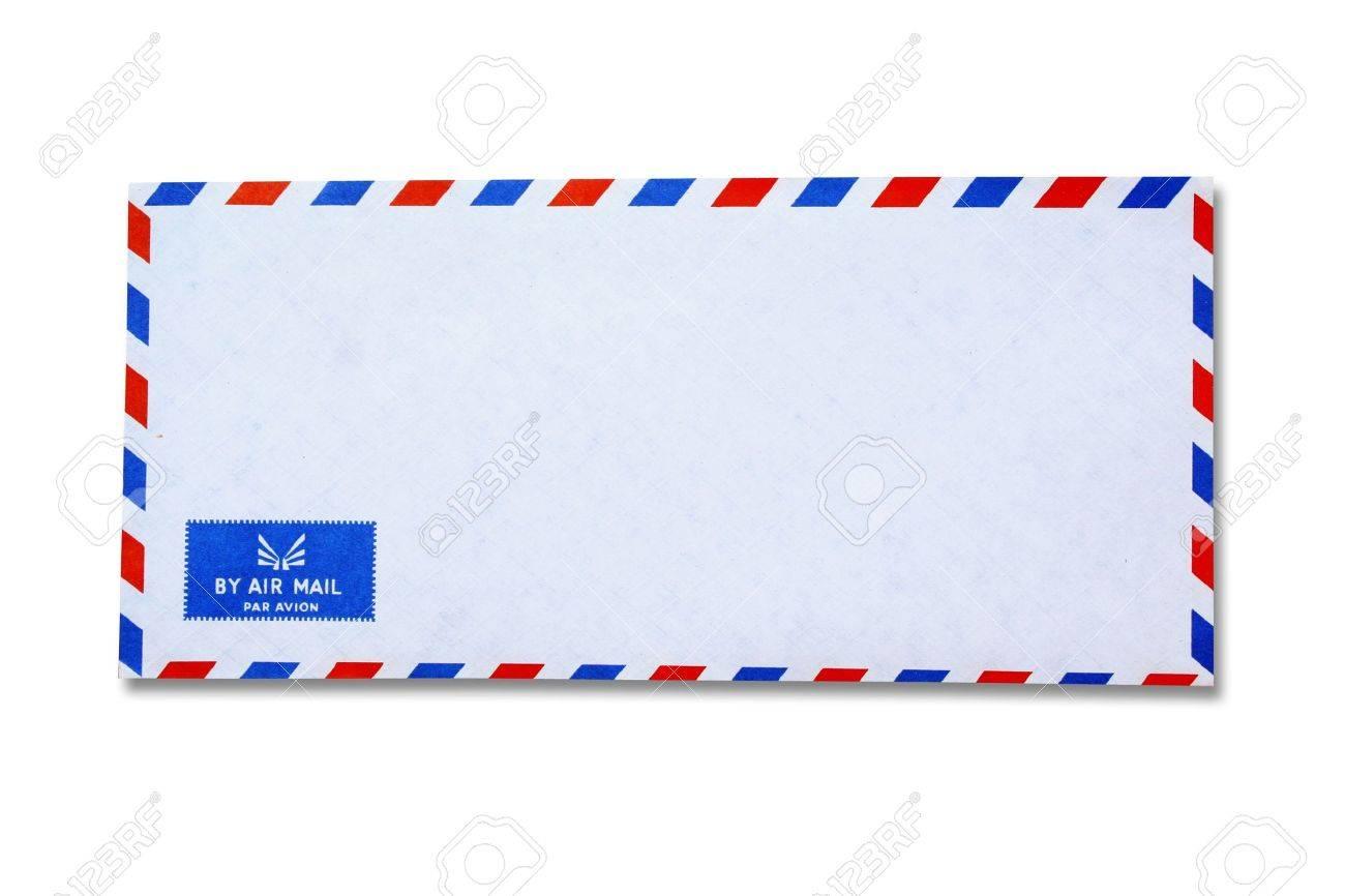 White Vintage Envelope Stock Photo - 10725433