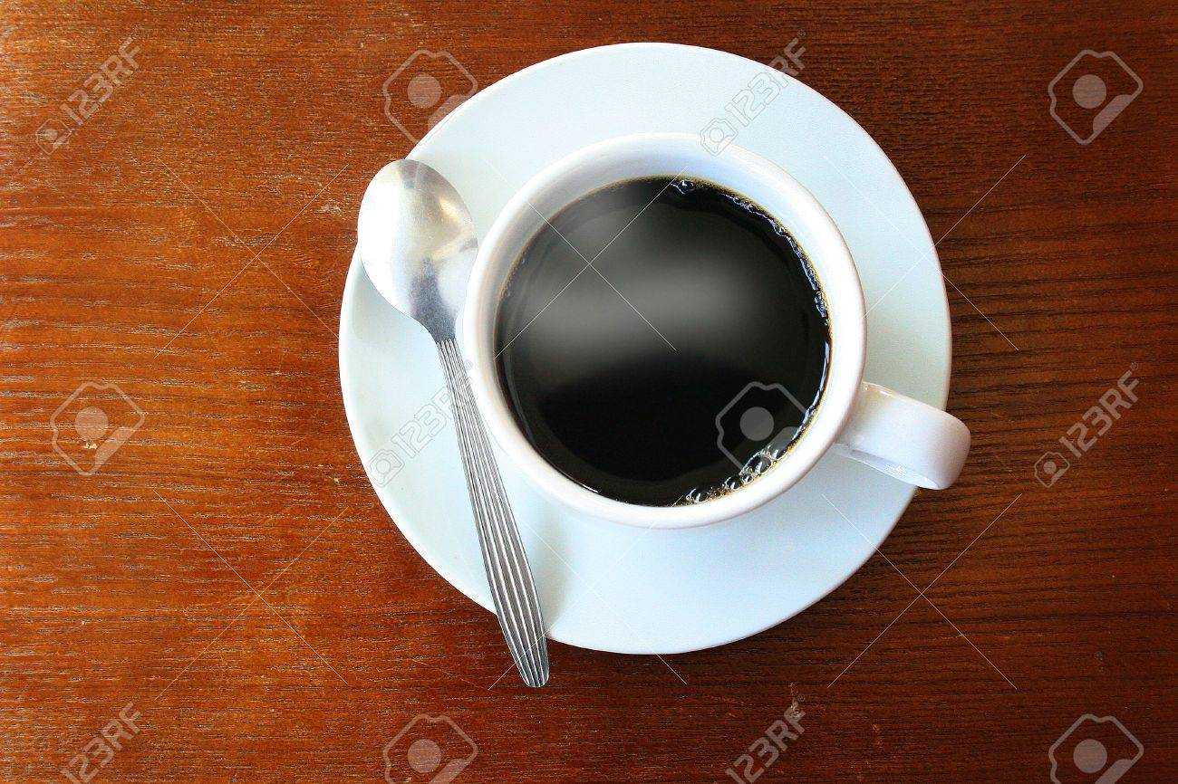 coffee on wooden background Stock Photo - 10725621