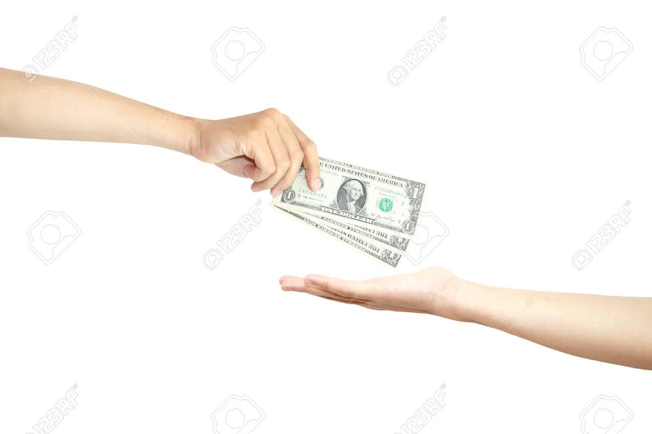 お金を払う の写真素材・画像素材 Image 10725400.