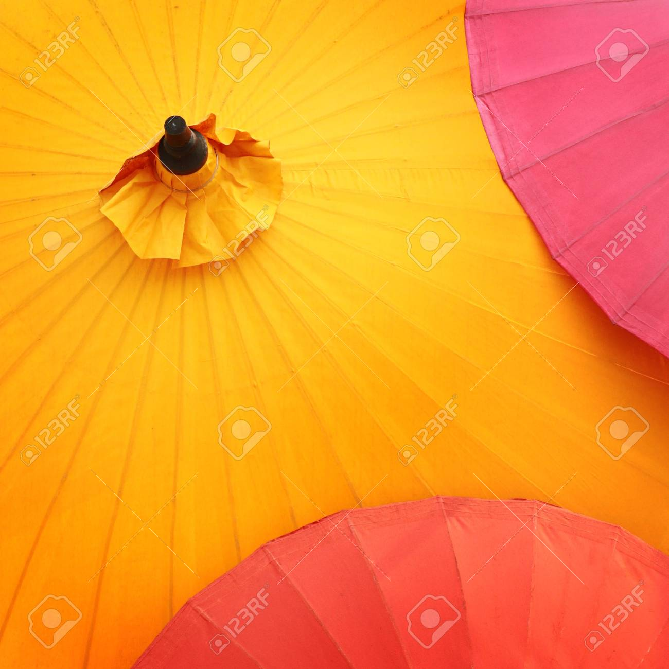 Asian Paper Umbrellas
