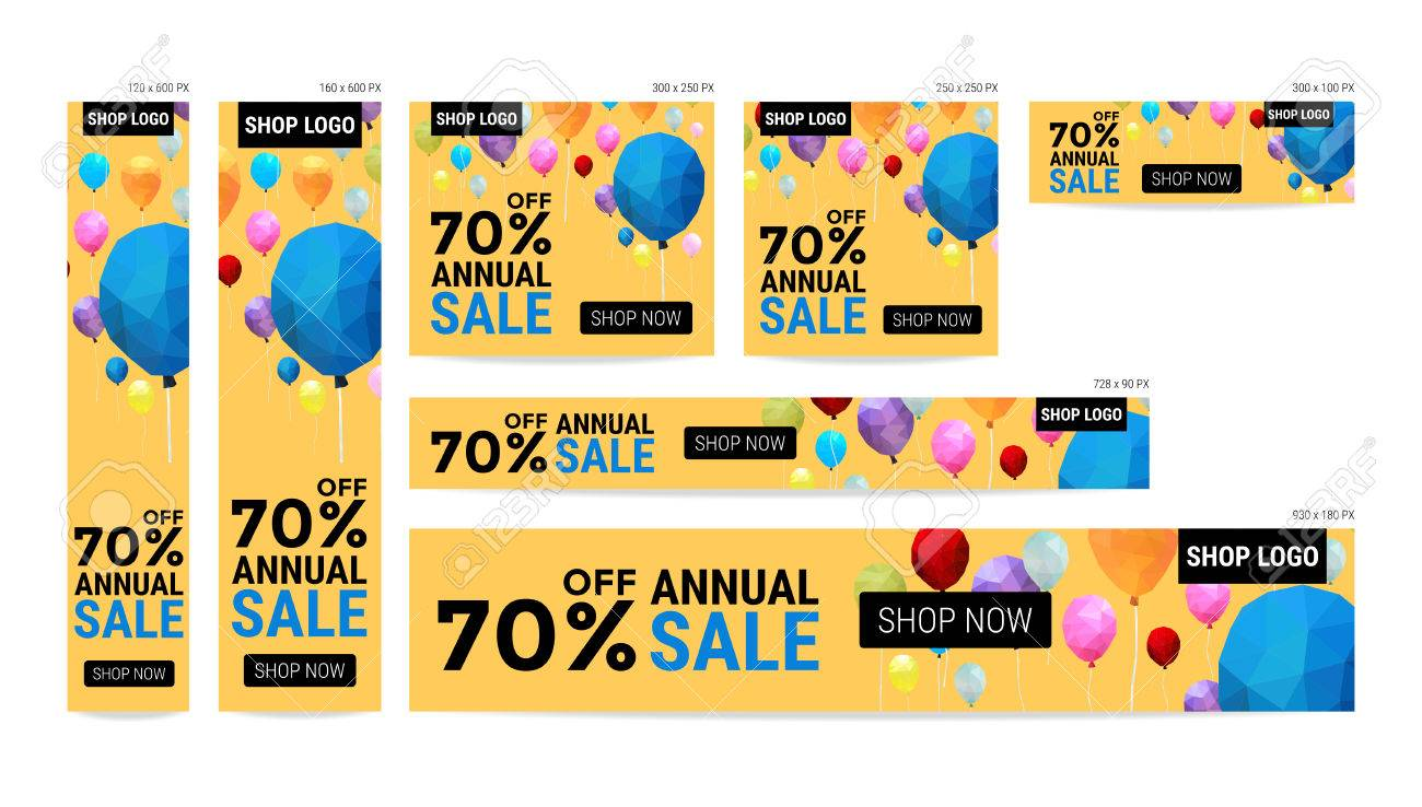 Sales Banners Banner Website Sale Off