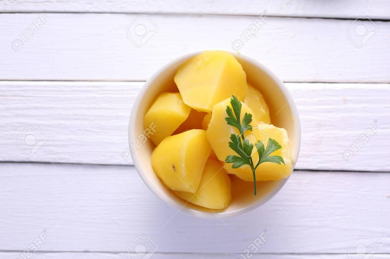 Boiled potatoes - 44173126