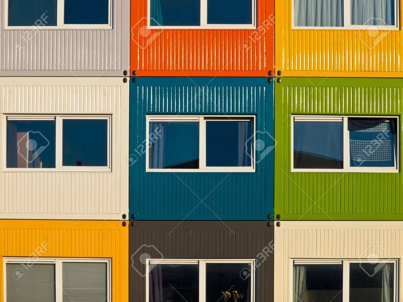Container Apartments cargo container apartments as a solution to housing problem stock