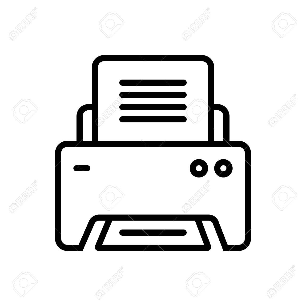 Printer icon - 124082961