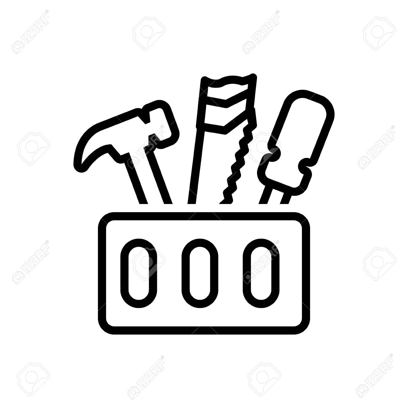 Icon For Toolbox ,tool Royalty Free Cliparts, Vectors, And Stock ...