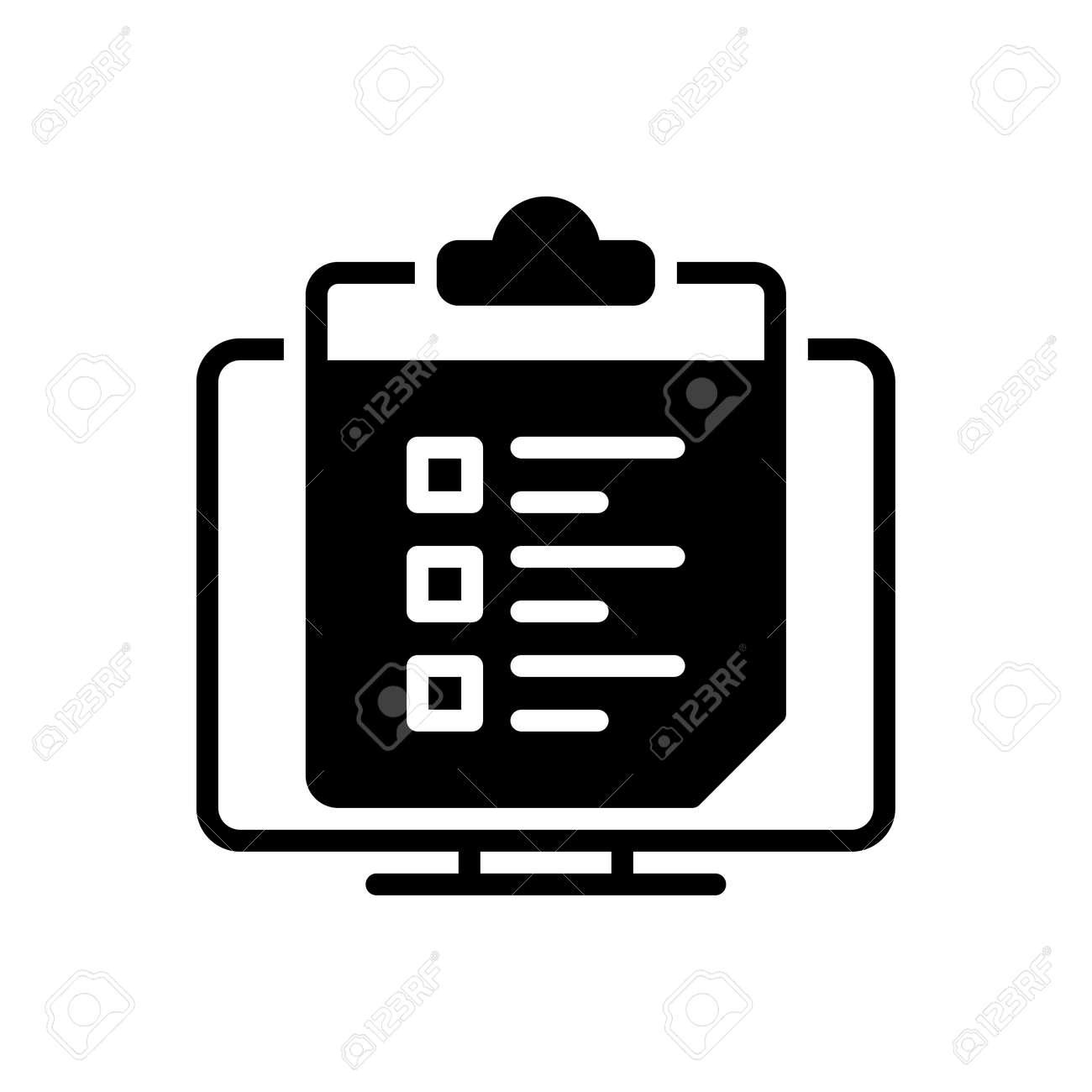 Icon for survey list ,survey - 172215026
