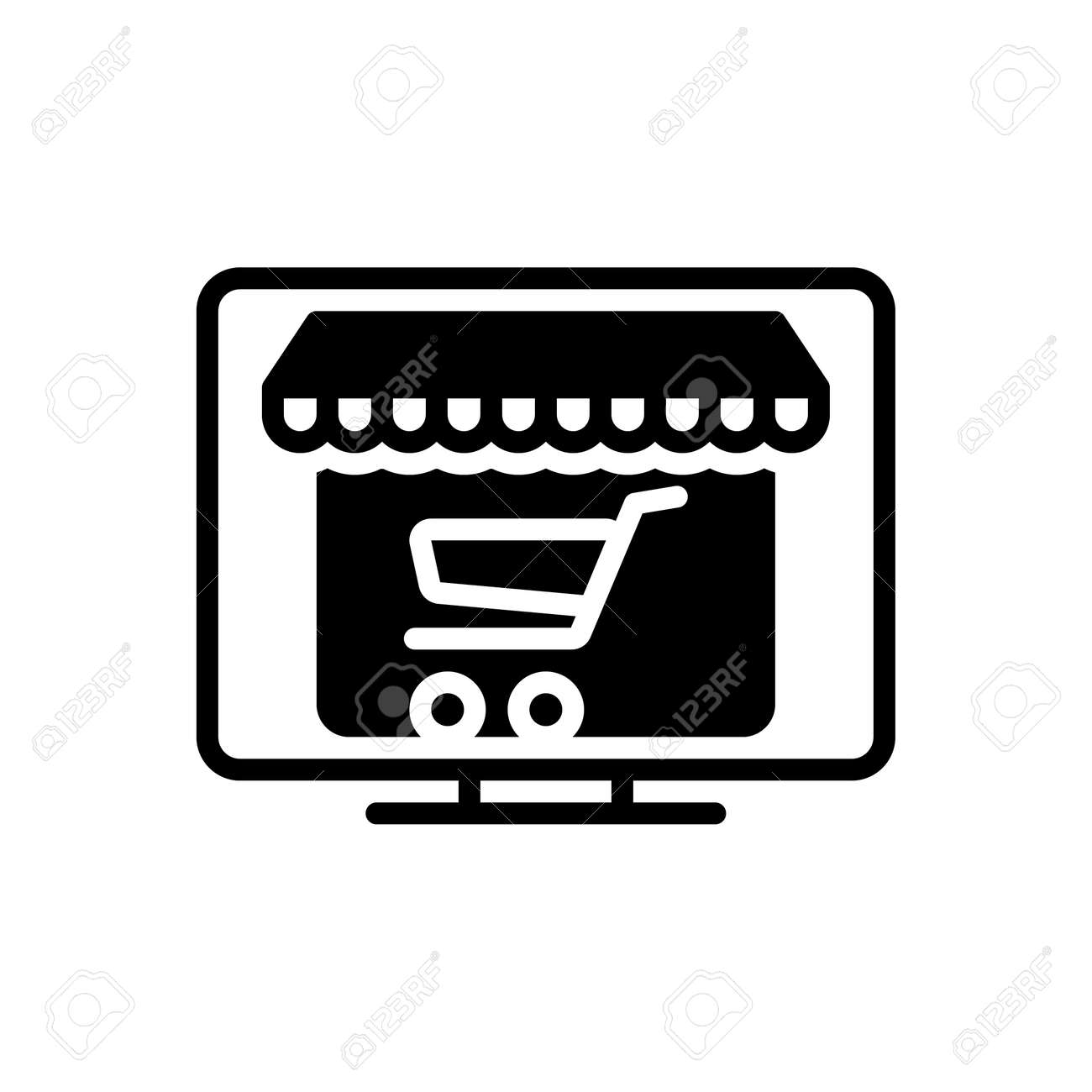 Icon for online shopping,internet - 172215030
