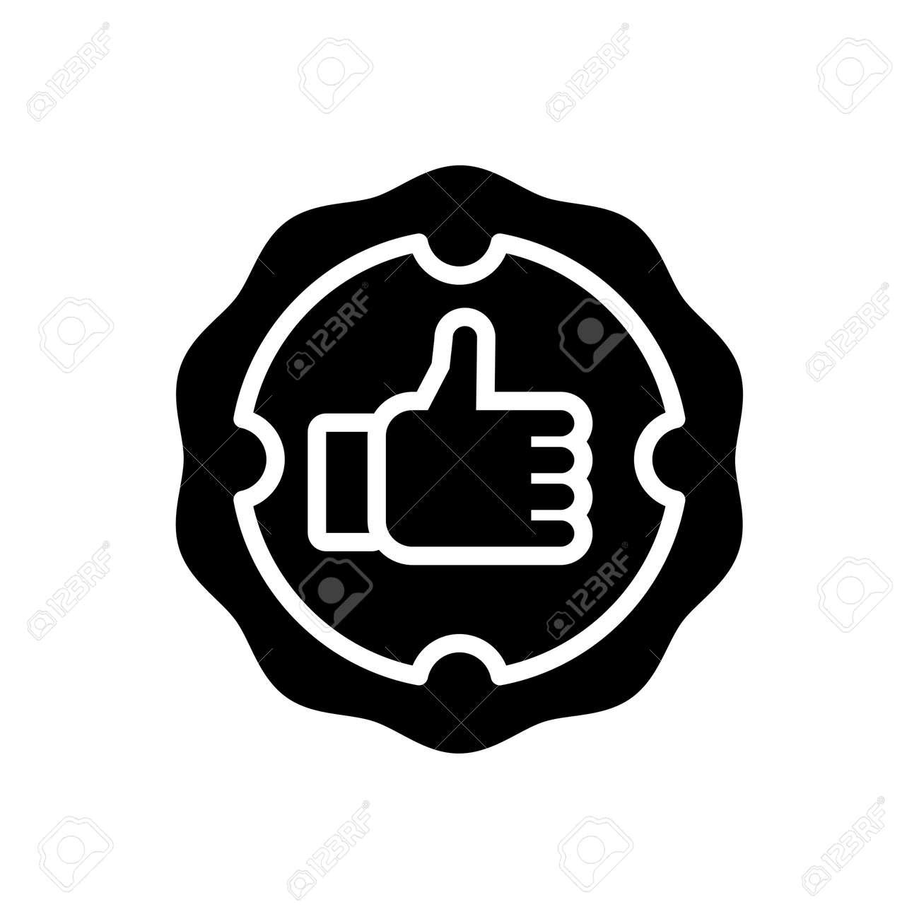 Icon for guarantee ,confident - 172215062