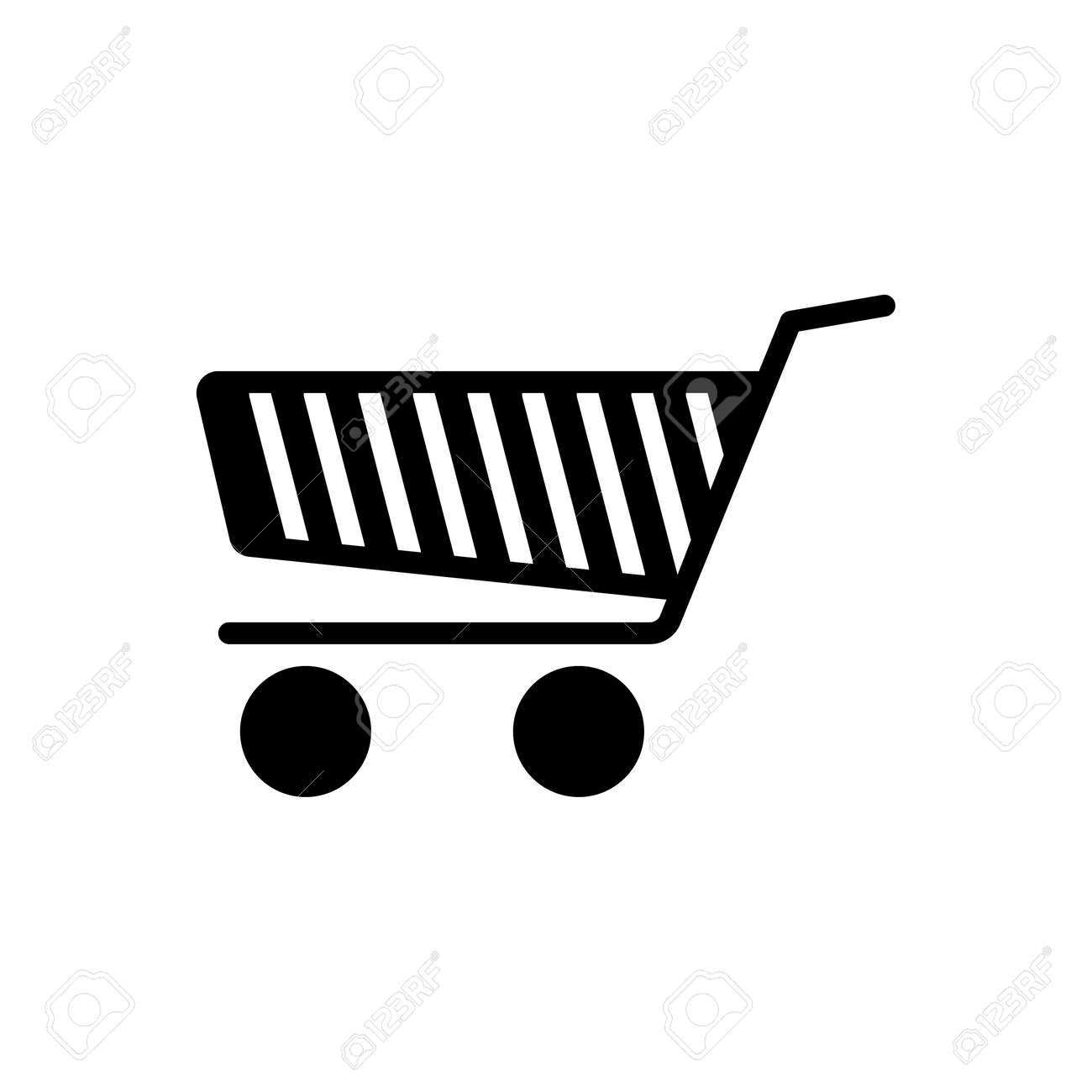 Icon for shopping cart, shopping - 172215069