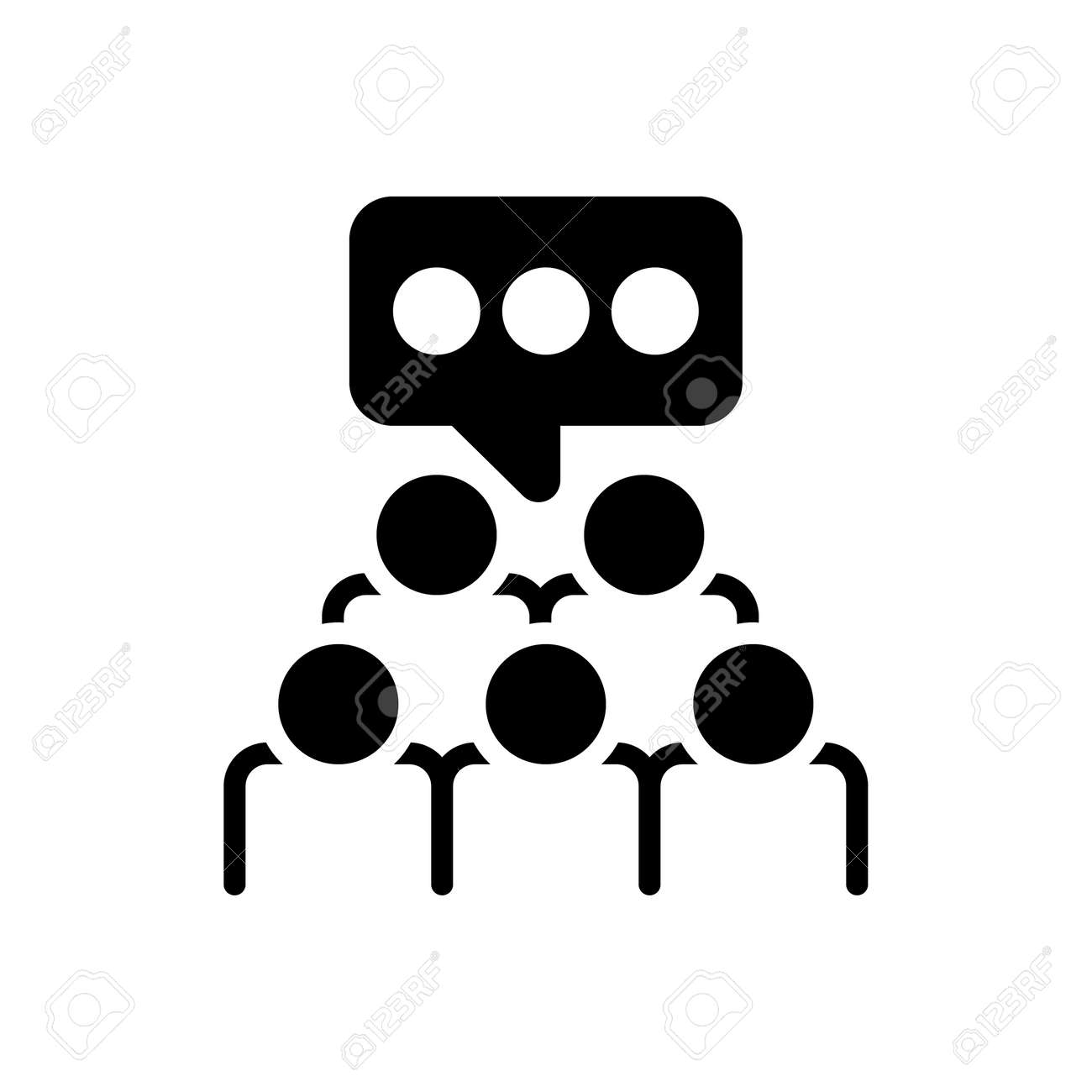 Icon for focus group,focus,group,survey - 172215108