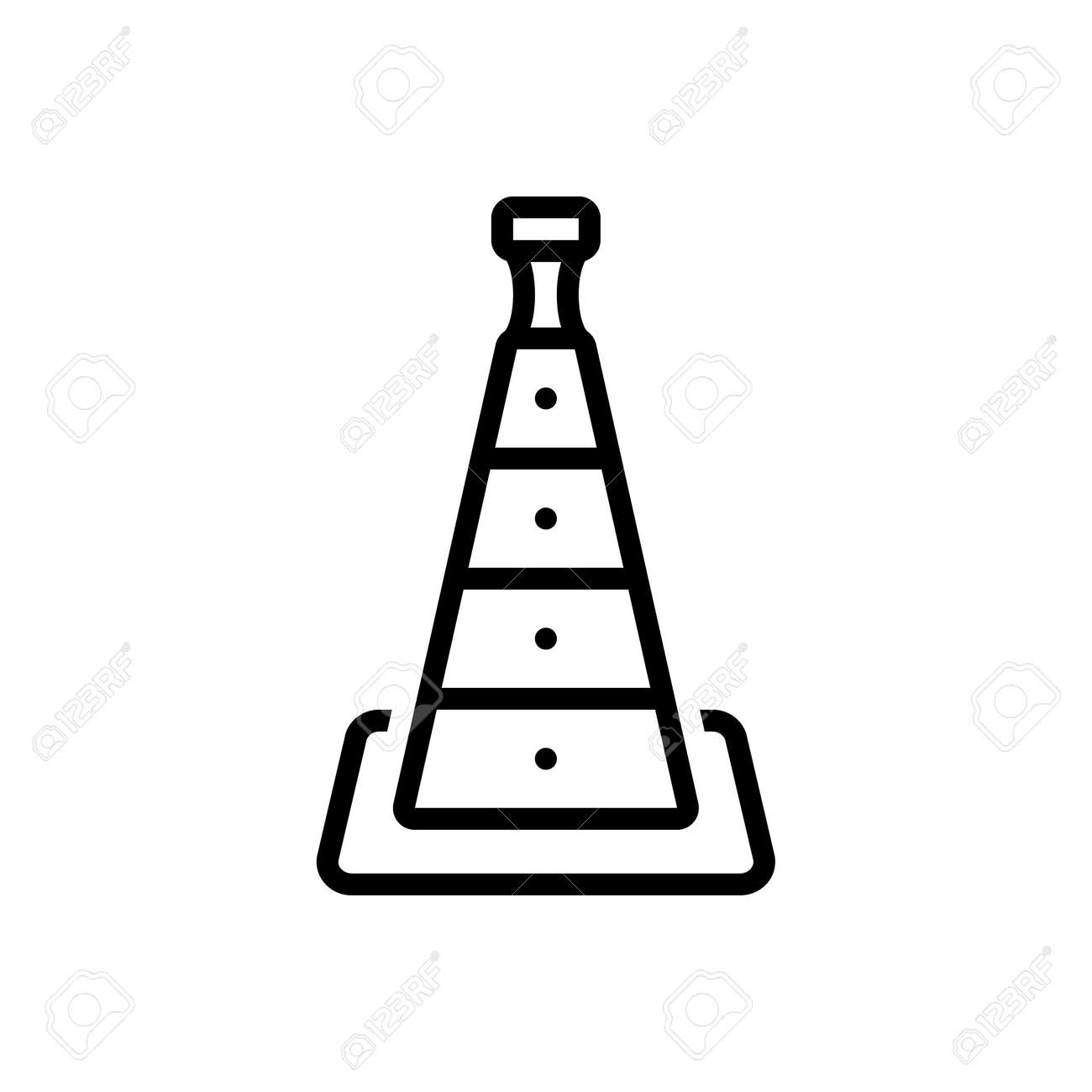 Icon for cone,barrier - 172206622