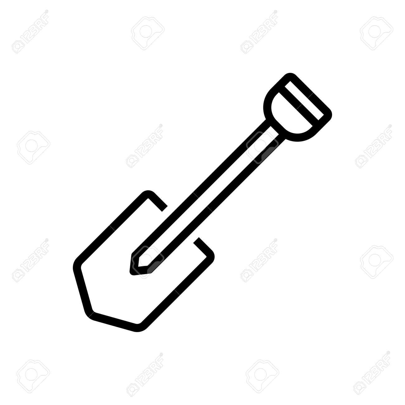 Icon for shovel,spade - 172206651