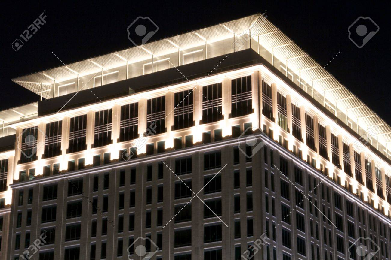 Carlton Ritz Hotel and its International Financial Centre its