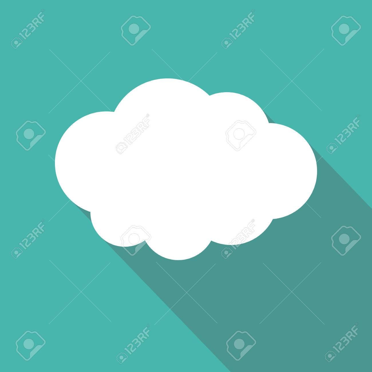 Cloud shape flat icon cloud symbol cloud pictogram vector cloud shape flat icon cloud symbol cloud pictogram vector icon of a cloud biocorpaavc Gallery