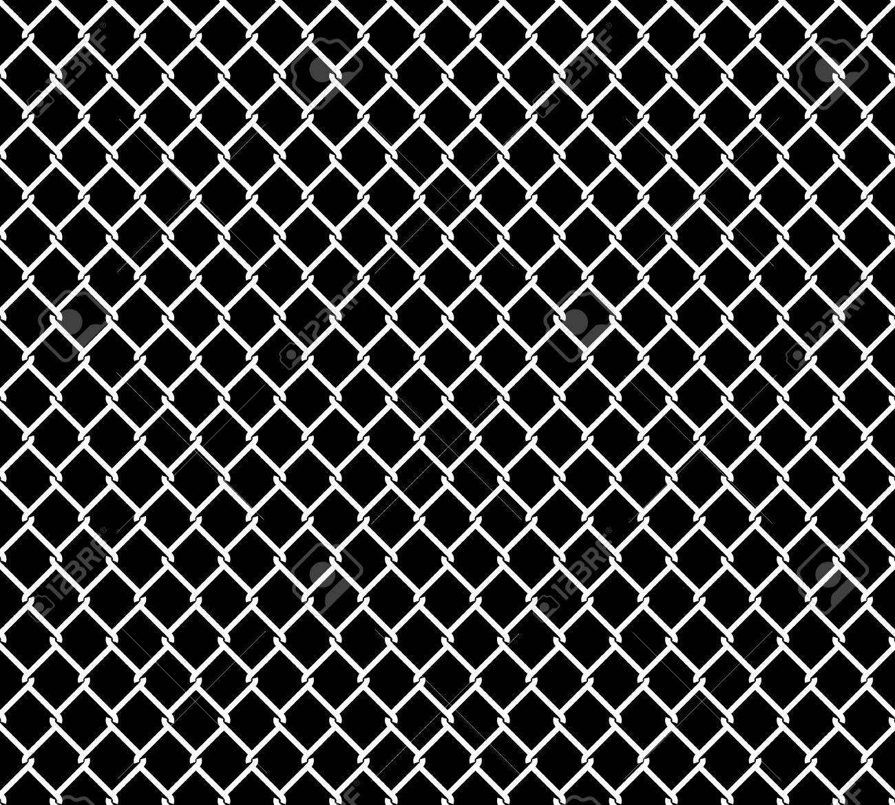 wired metallic fence seamless pattern overlay steel wire mesh