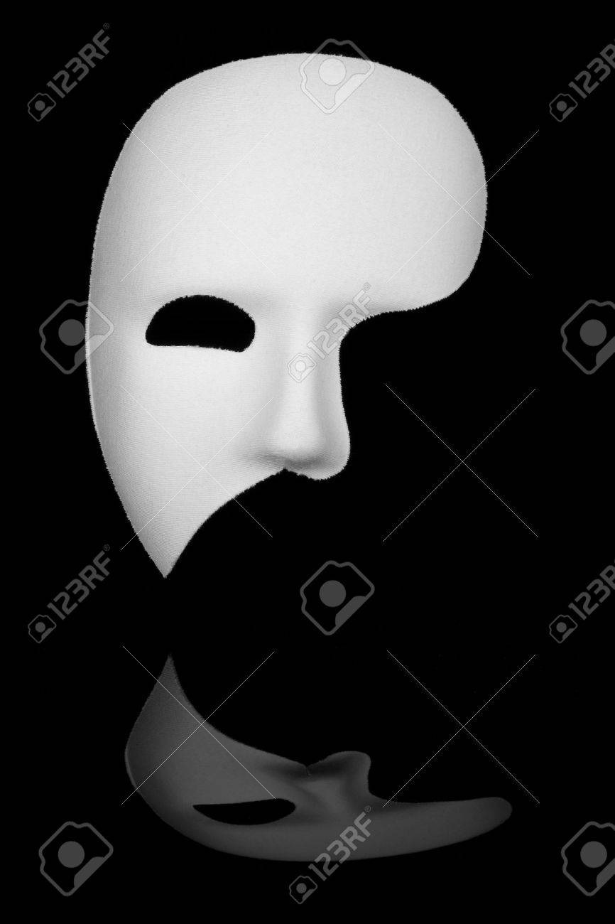 White Phantom Mask Dress Up & Pretend Play