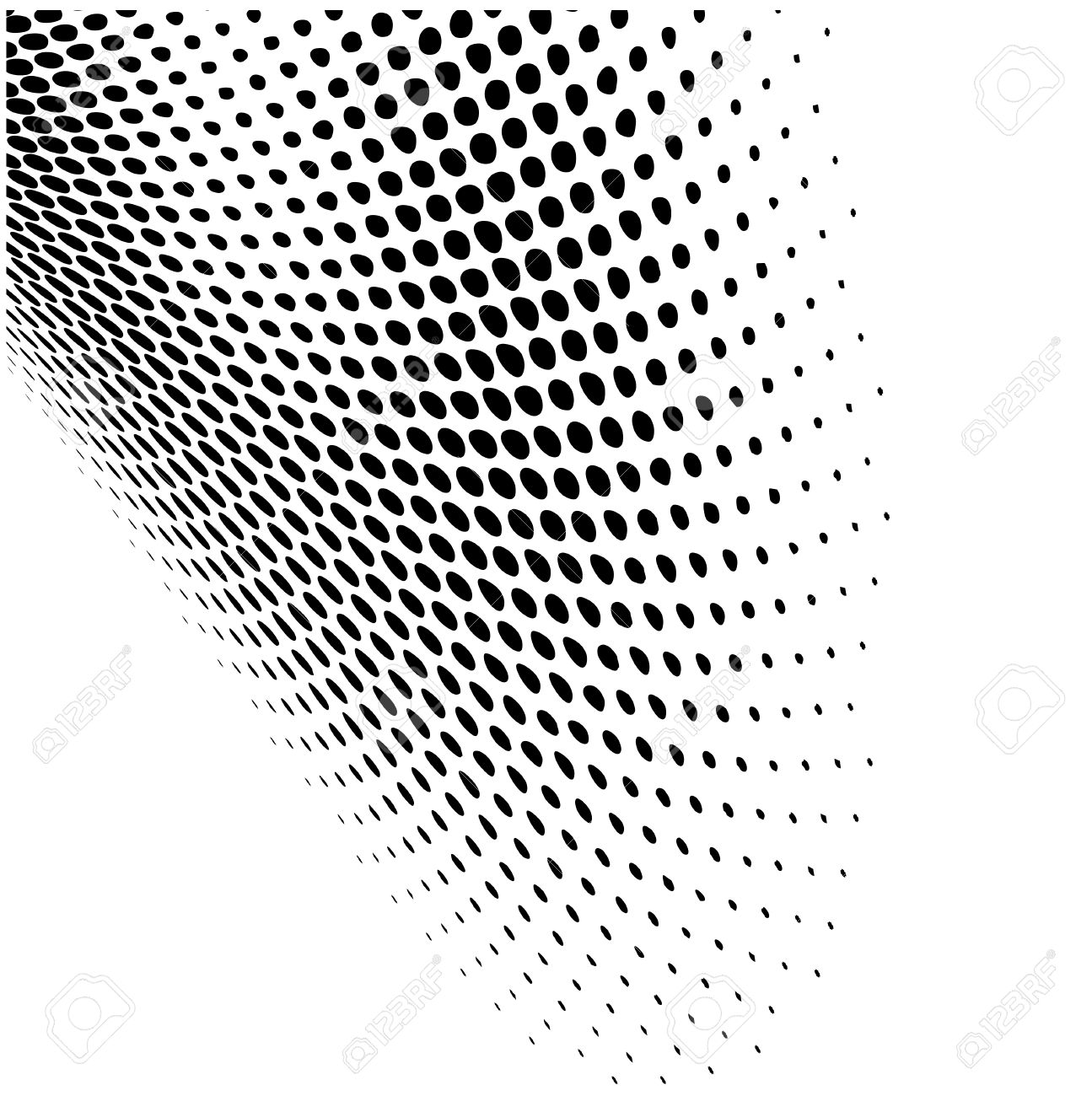 Abstract dynamic dots pattern background - 31400655