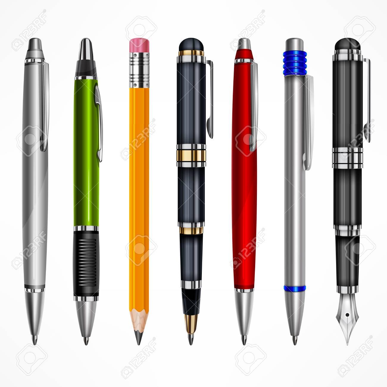 Escribir pluma para tipos de