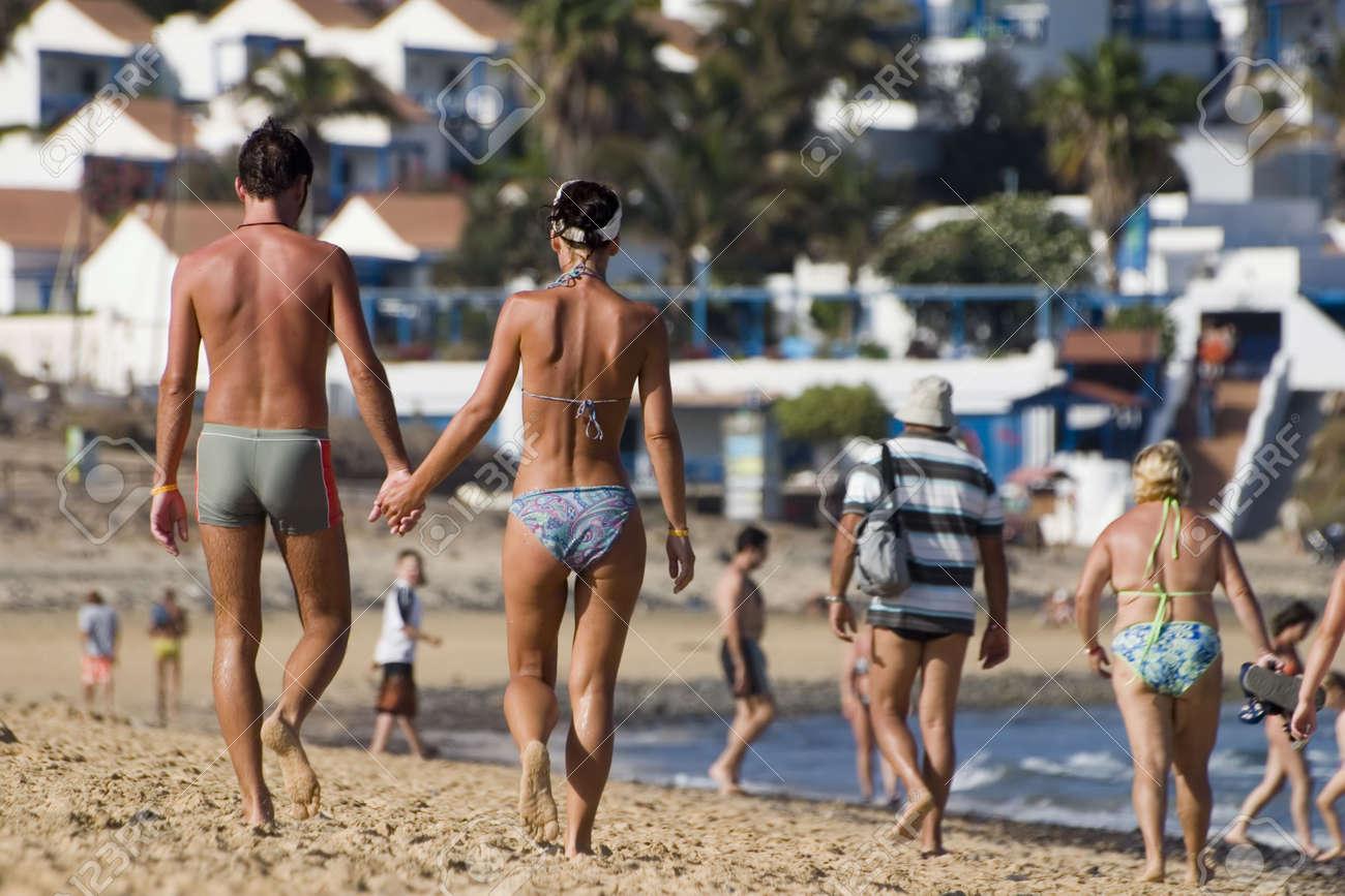 walk on the beach Stock Photo - 494332