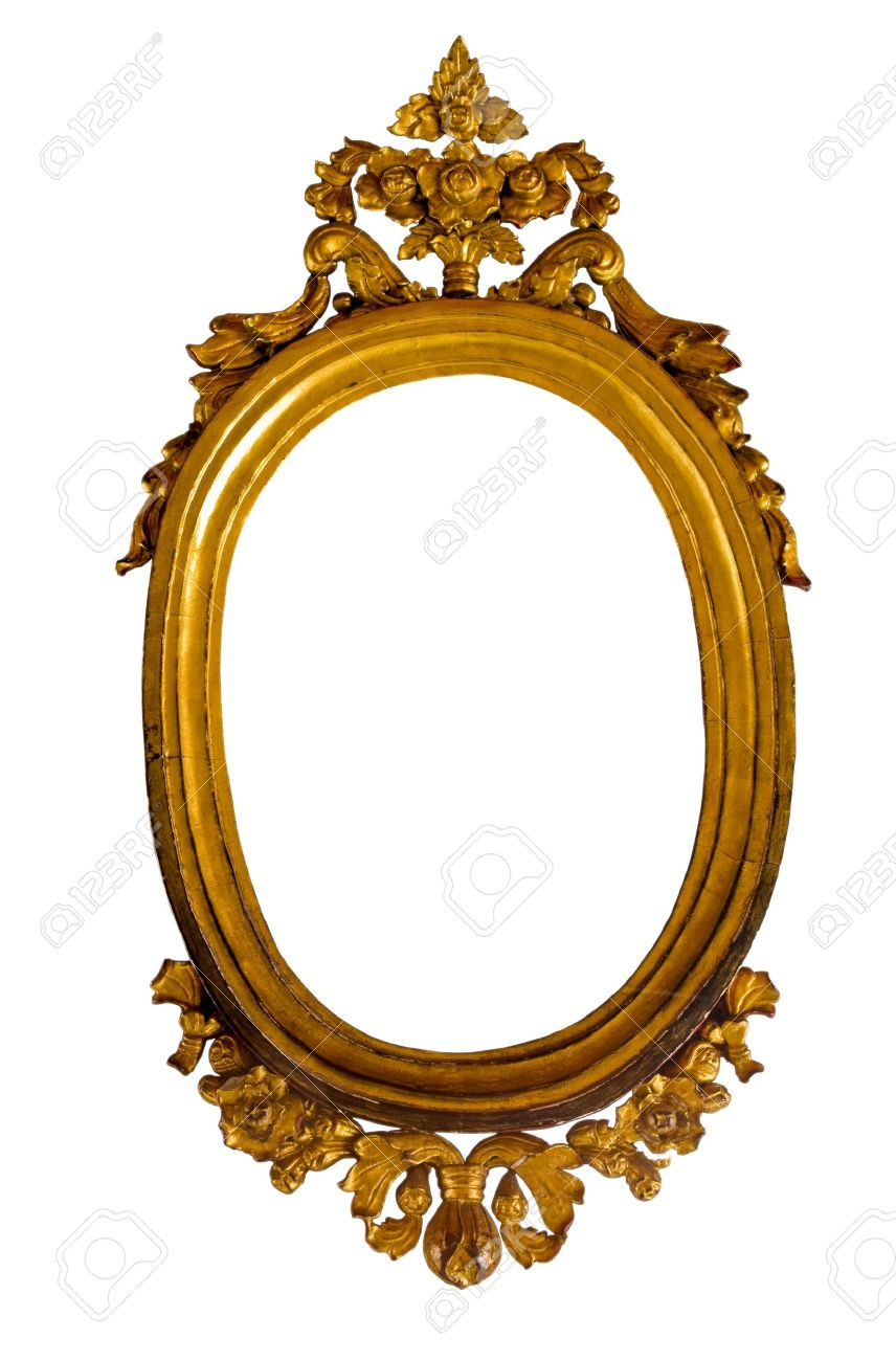 Golden Thai style frame Stock Photo - 8072249